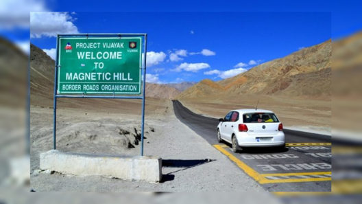 The Magnetic Hill of Leh