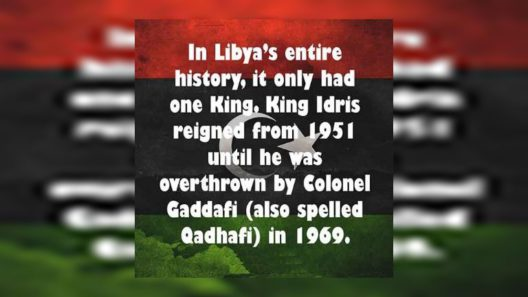 Libya had only one King in entire History