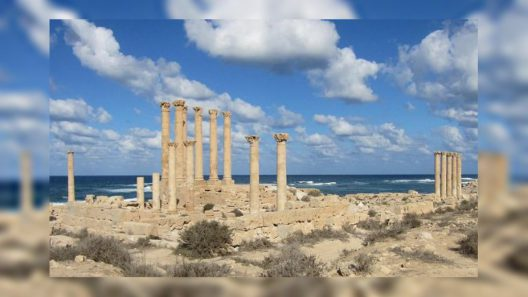Libya's Longest Mediterranean Sea coast in North African Countries