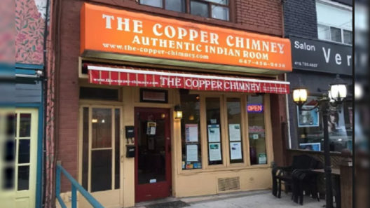 The Copper Chimney