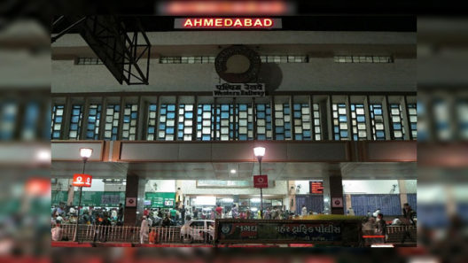 Ahmedabad Junction Railway Station