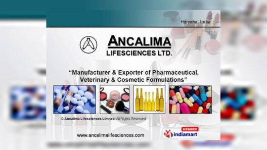 Ancalima Lifesciences Limited