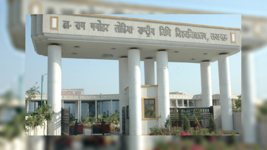 Dr. Ram Manohar Lohiya National Law University