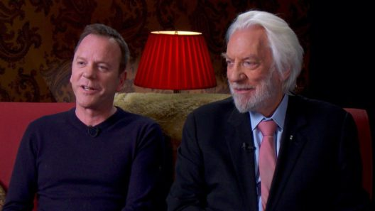 Donald Sutherland and Kiefer Sutherland