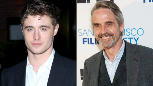 Jeremy Irons and Max Irons