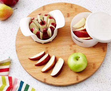 Apple Slicer with Storage Cup